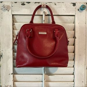 Reduced! Danier small red purse 👜 and dust bag